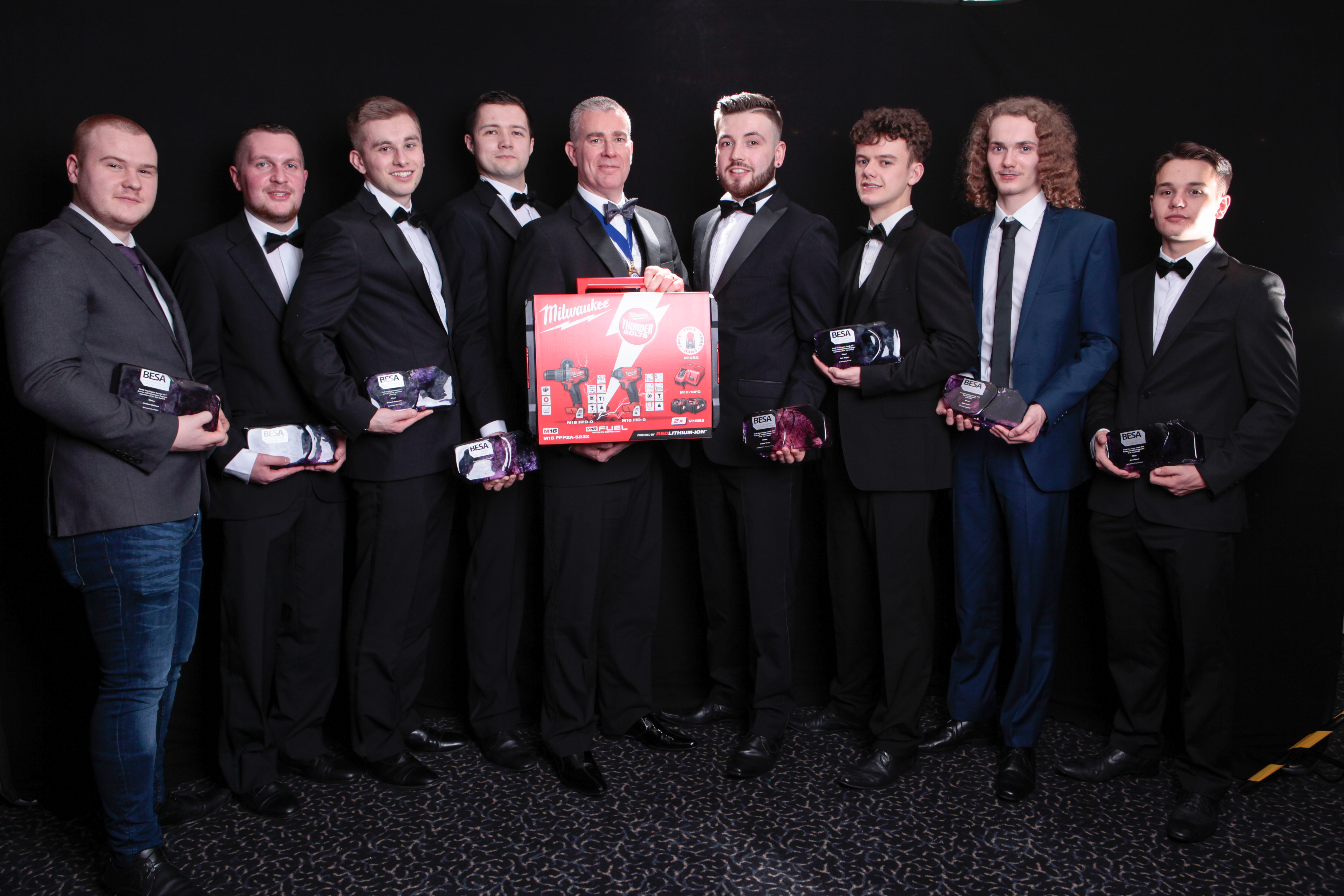 North West Awards winners