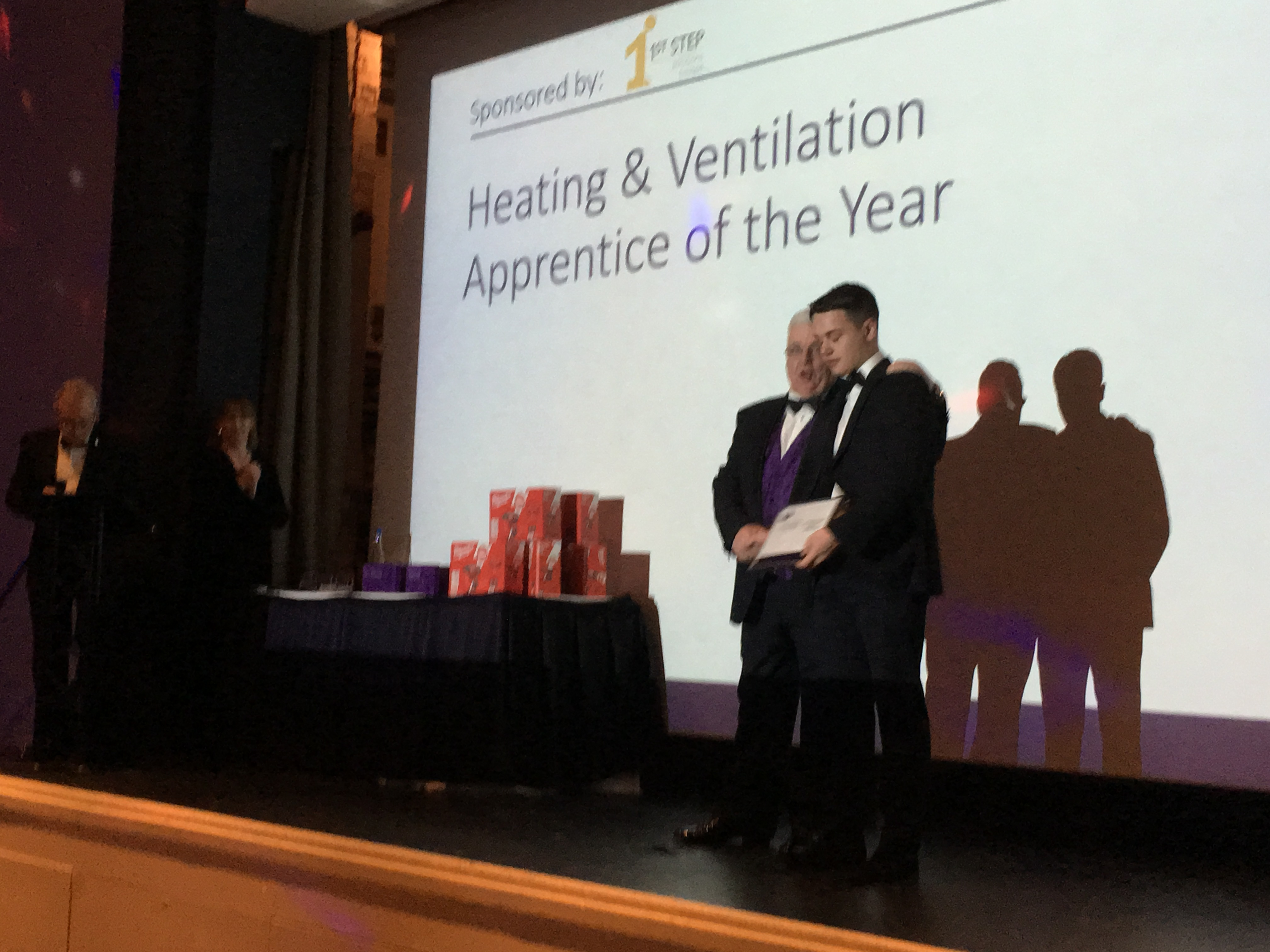 James Bostock - H&V Apprentice of the Year Highly Commended