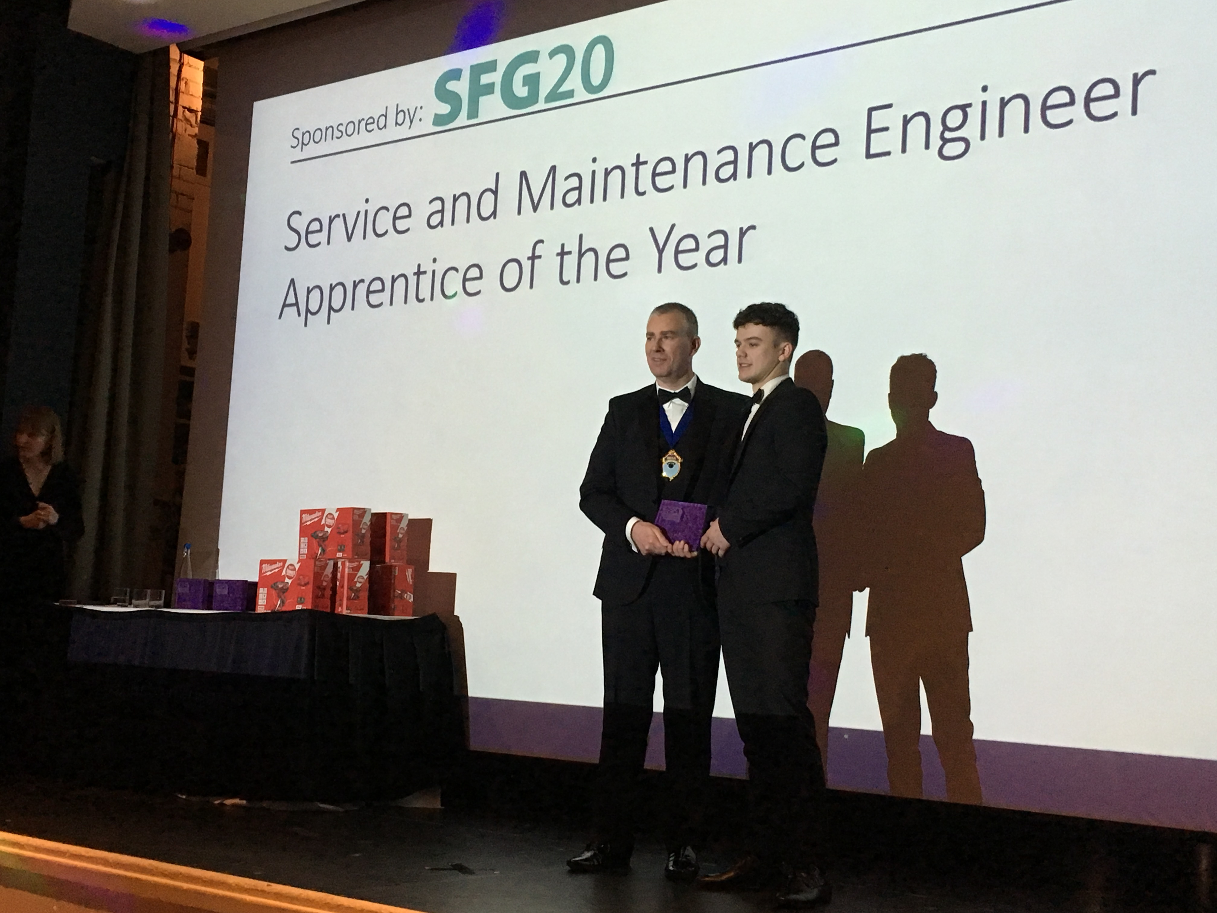 Jack Hughes - Service & Maintenance Apprentice of the Year Winner