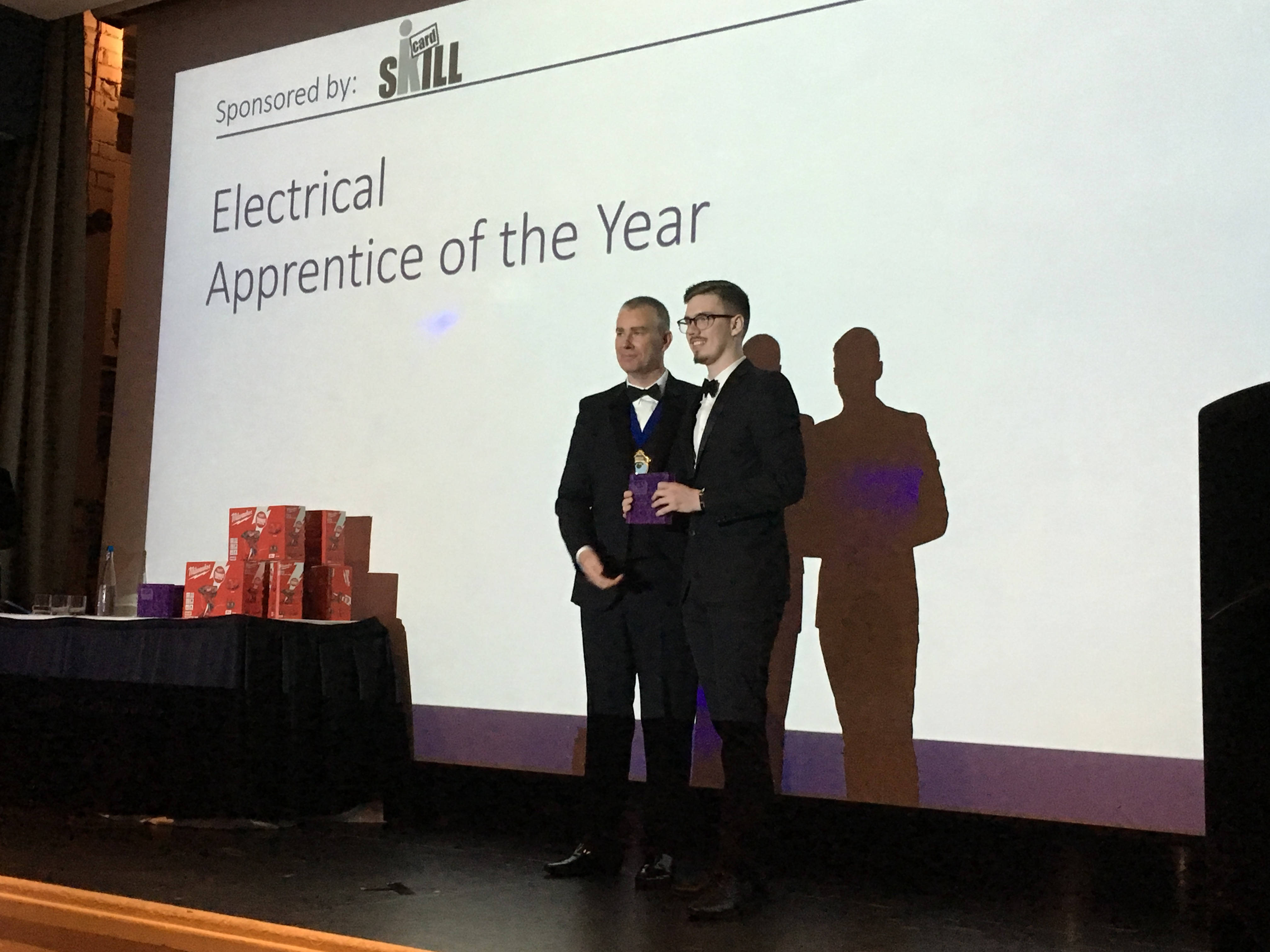 Adam McHaffie - Electrical Apprentice of the Year Winner