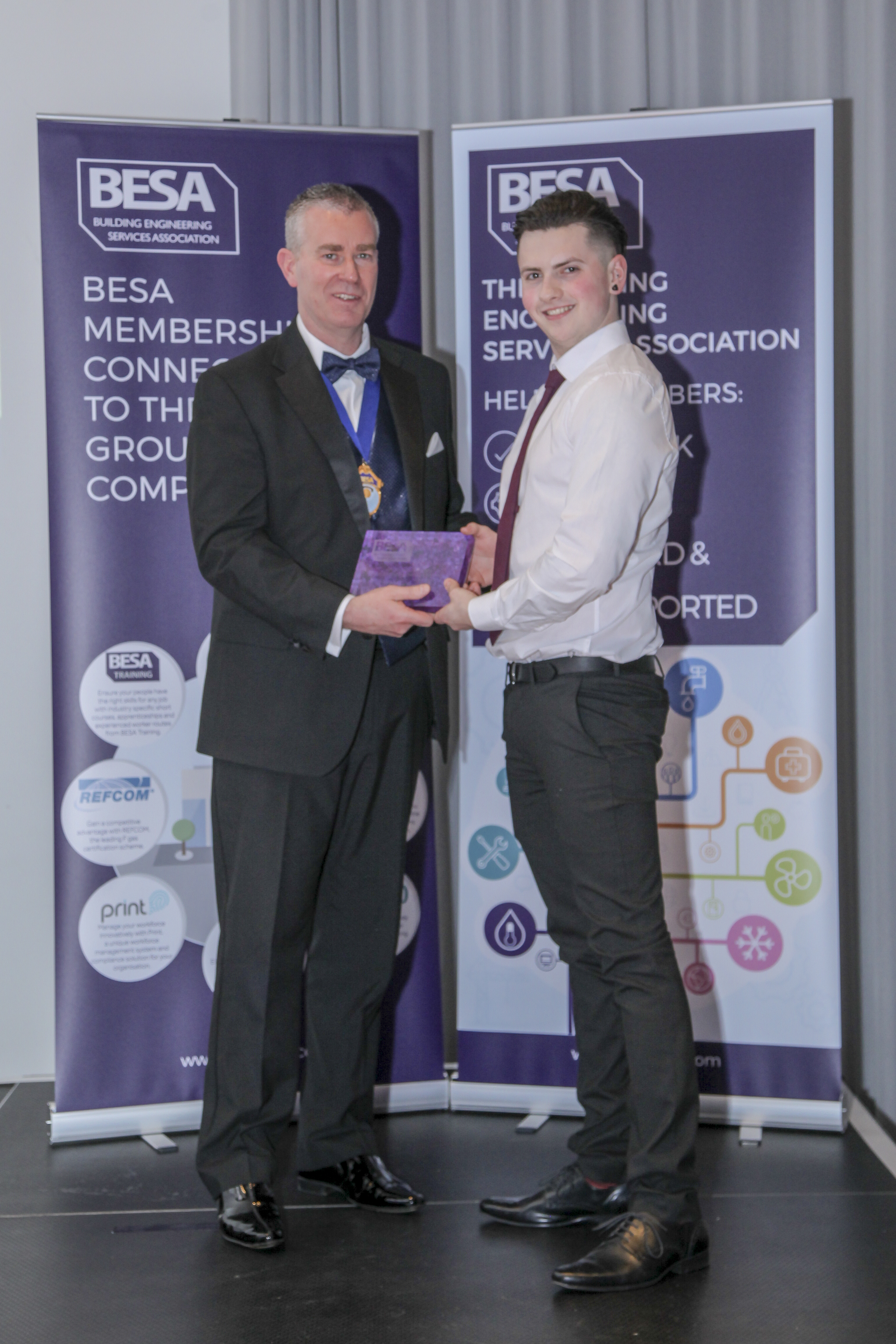 H&V apprentice of the year - Ethan Bond, T W Steam & Heating Services Limited