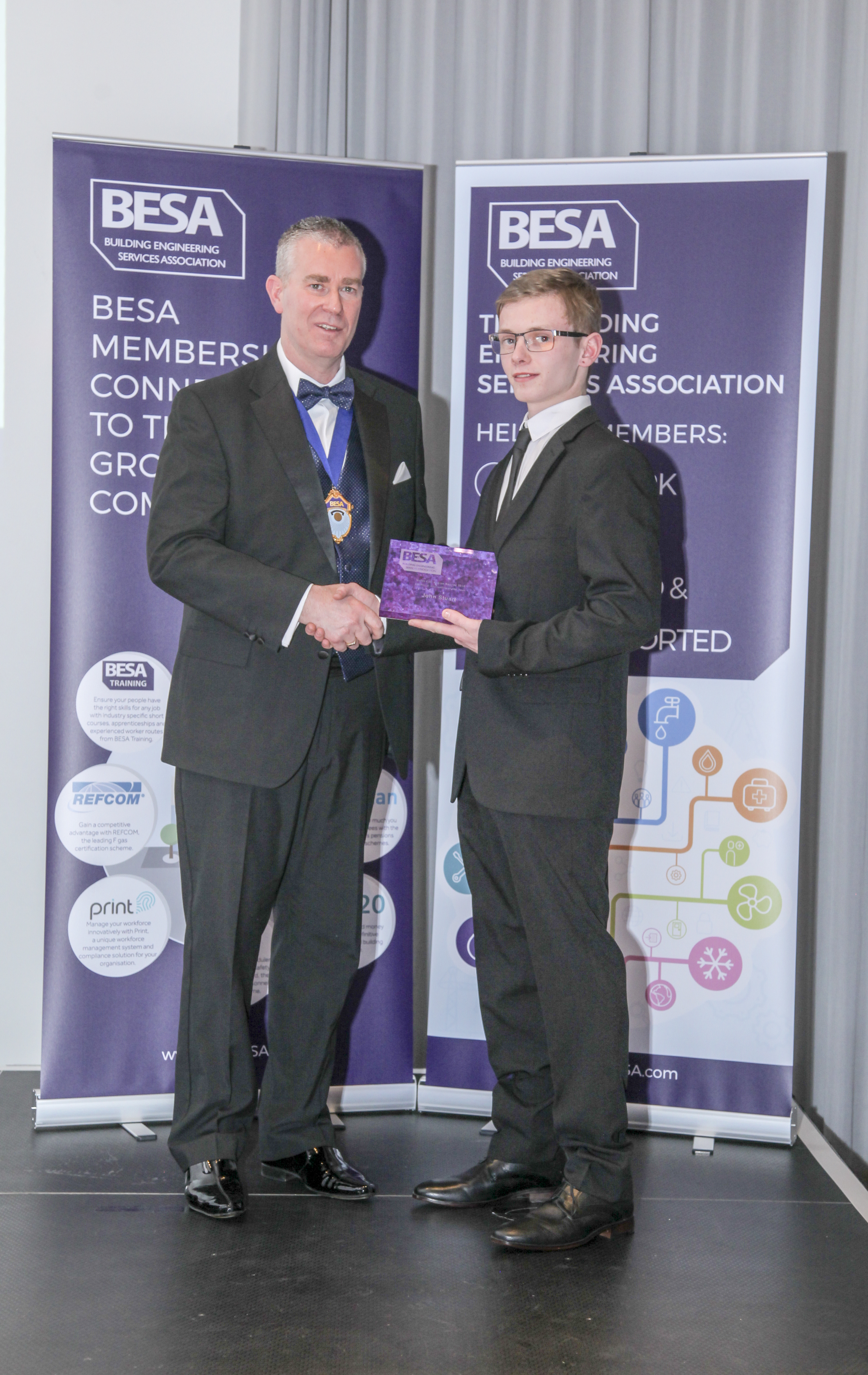 Electrical Apprenticeship of the year - John Stuart, Vaughan Engineering Ltd