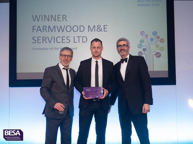 Farmwood M&E Services Ltd, Winner of Contractor of the Year