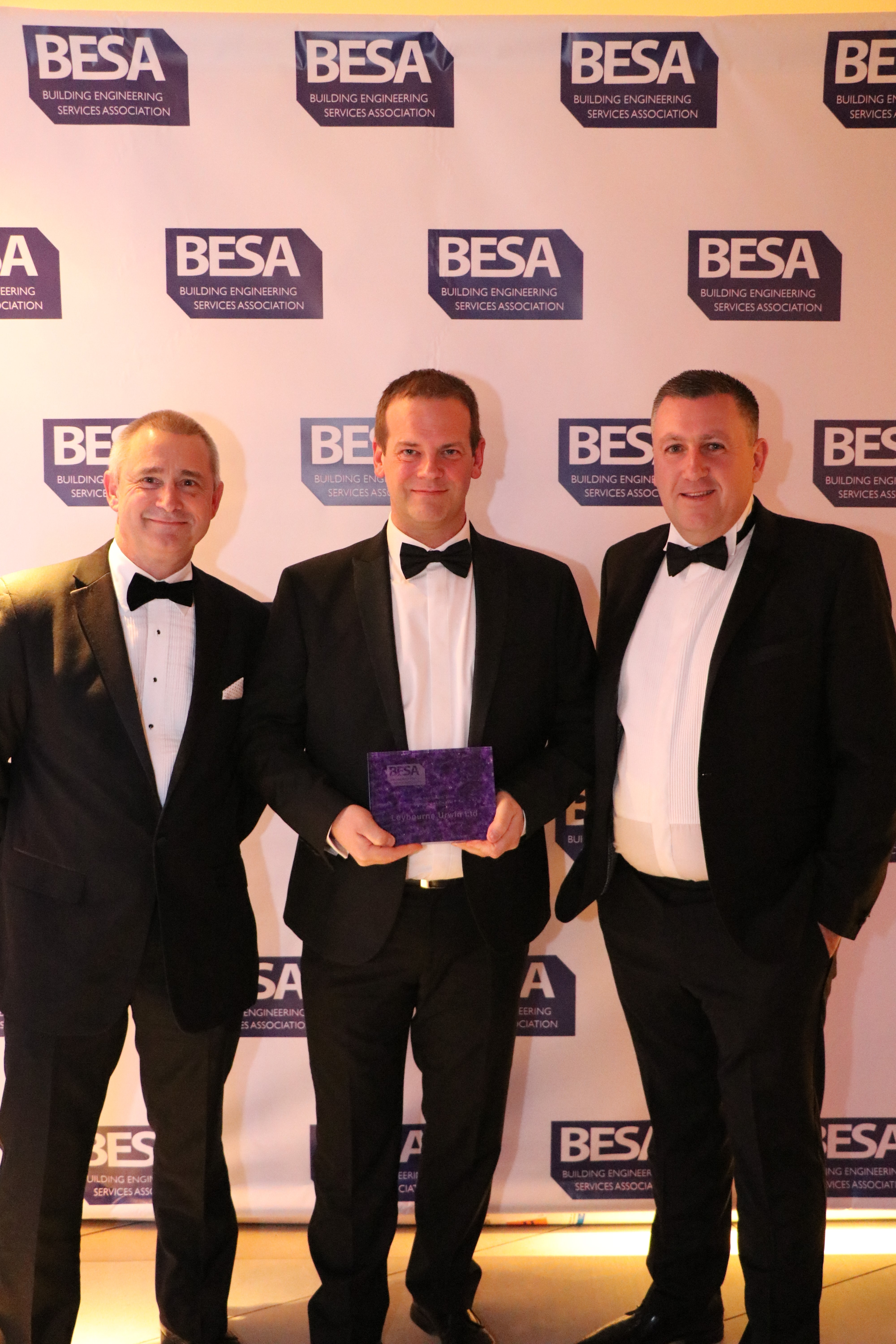 Leybourne Urwin, Contractor of the Year