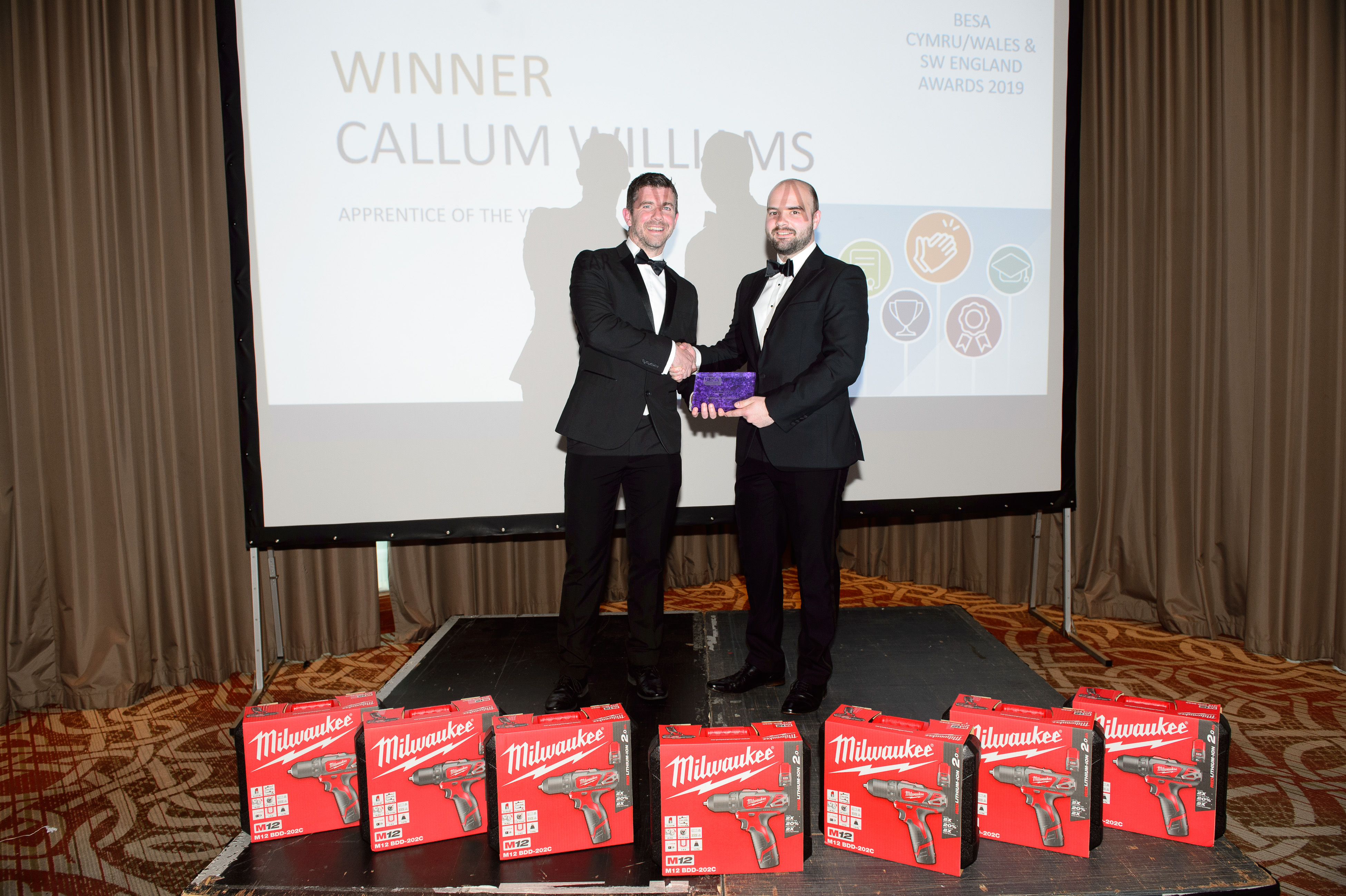 Apprentice of the Year Callum Williams, Dodd Group (Wales)