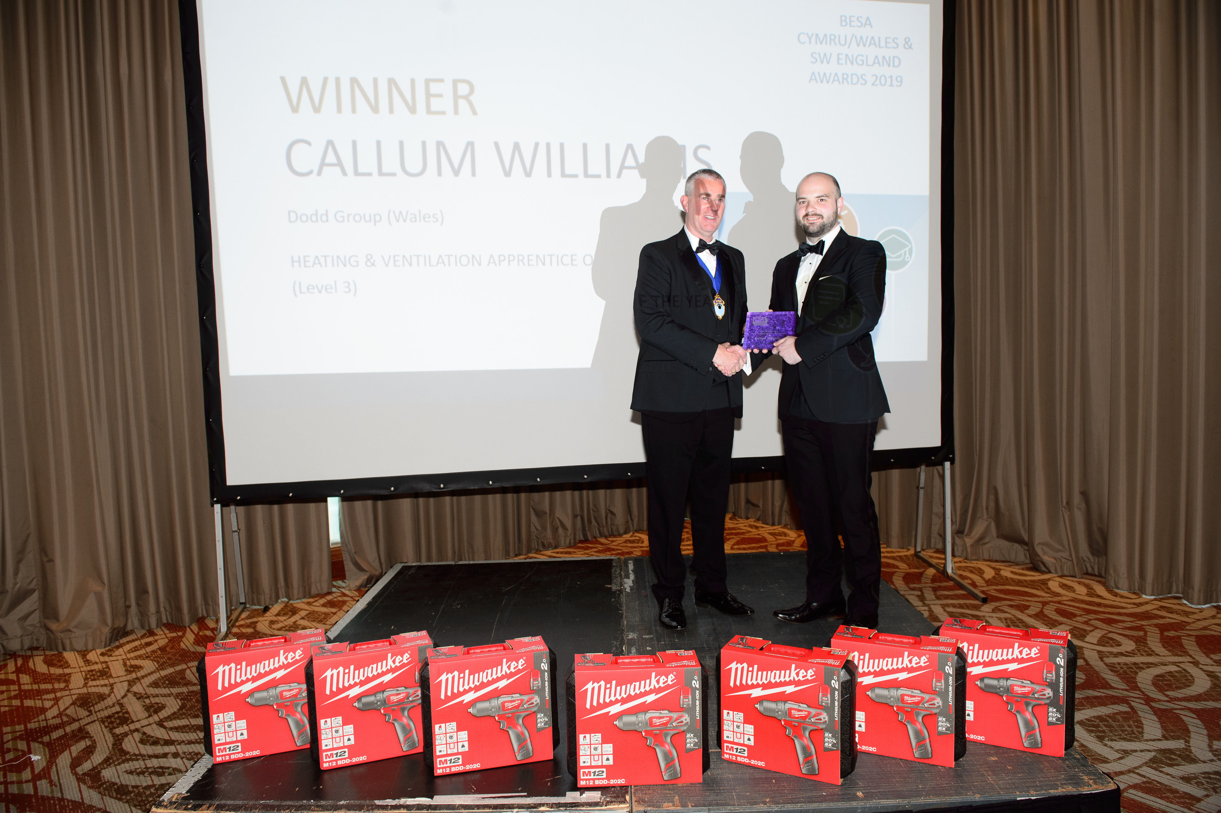 Callum Williams, Heating & Ventilation Apprentice of the Year Level 3