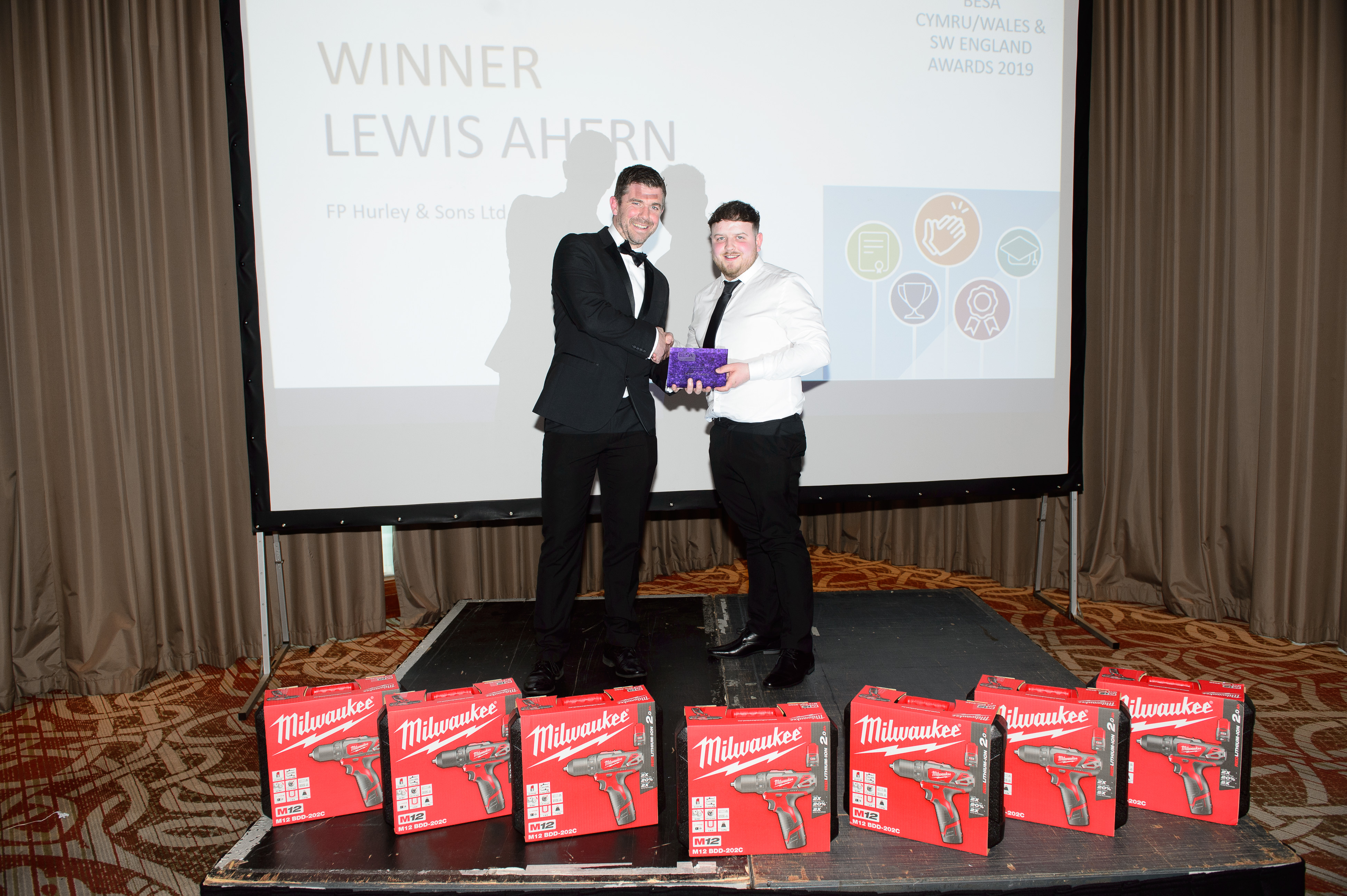 Chair's Award, Lewis Ahern, FP Hurley & Sons Ltd