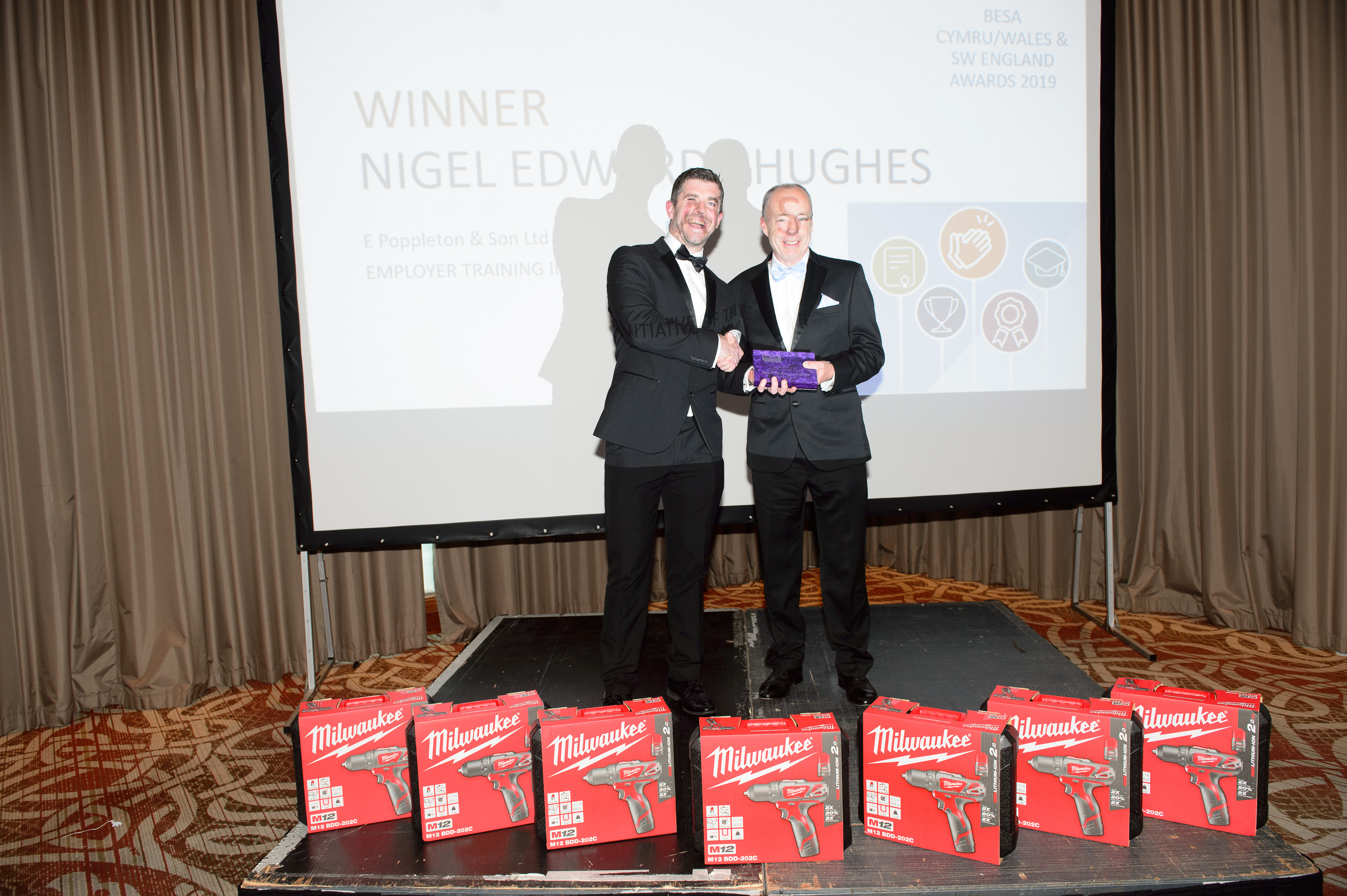 Employer Training Initiative of the Year, Nigel Edward-Hughes, E Poppleton & Son Ltd
