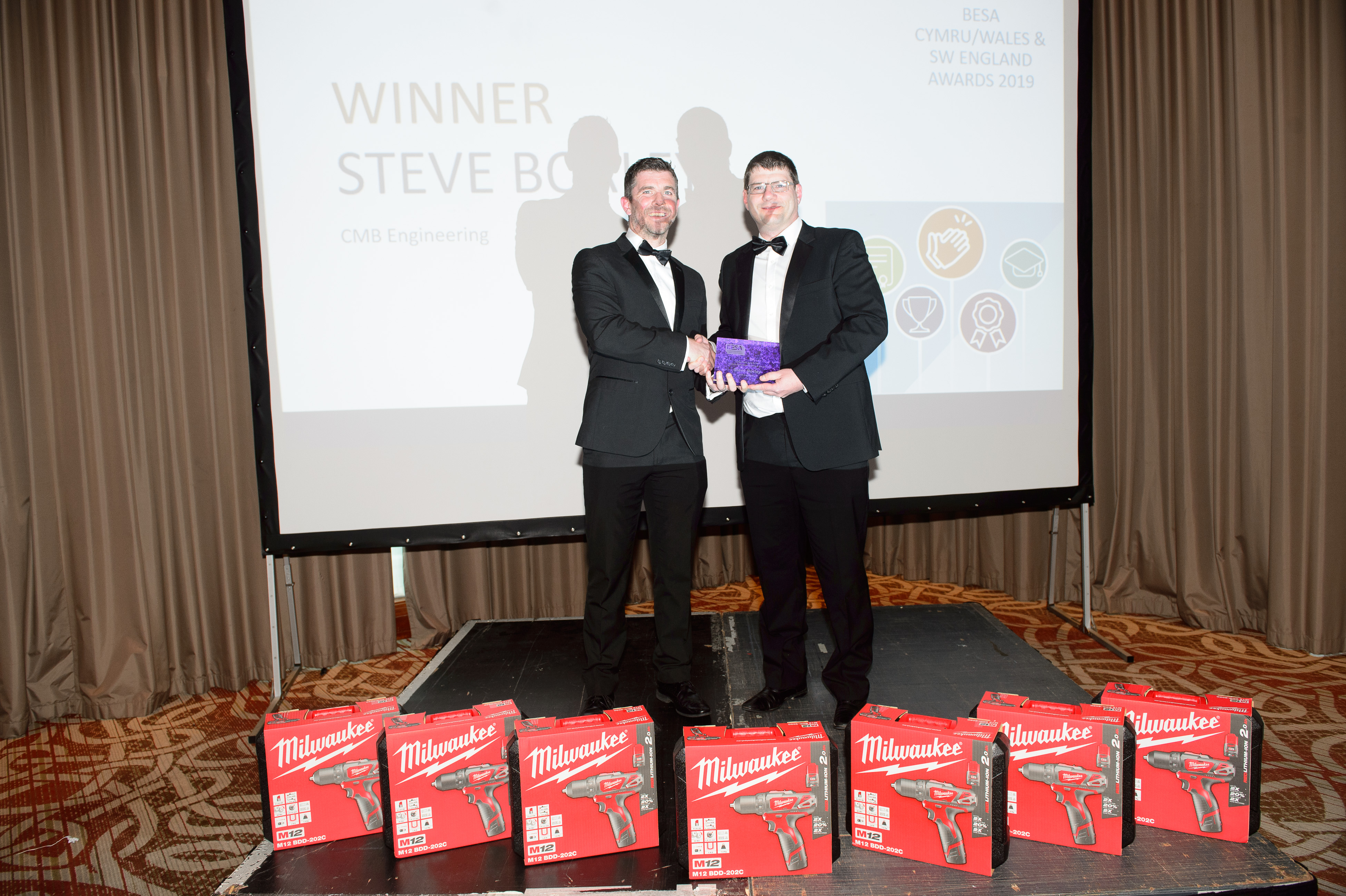 Steve Borley, CMB Engineering, Emplouer Recruitment Initiative of the Year