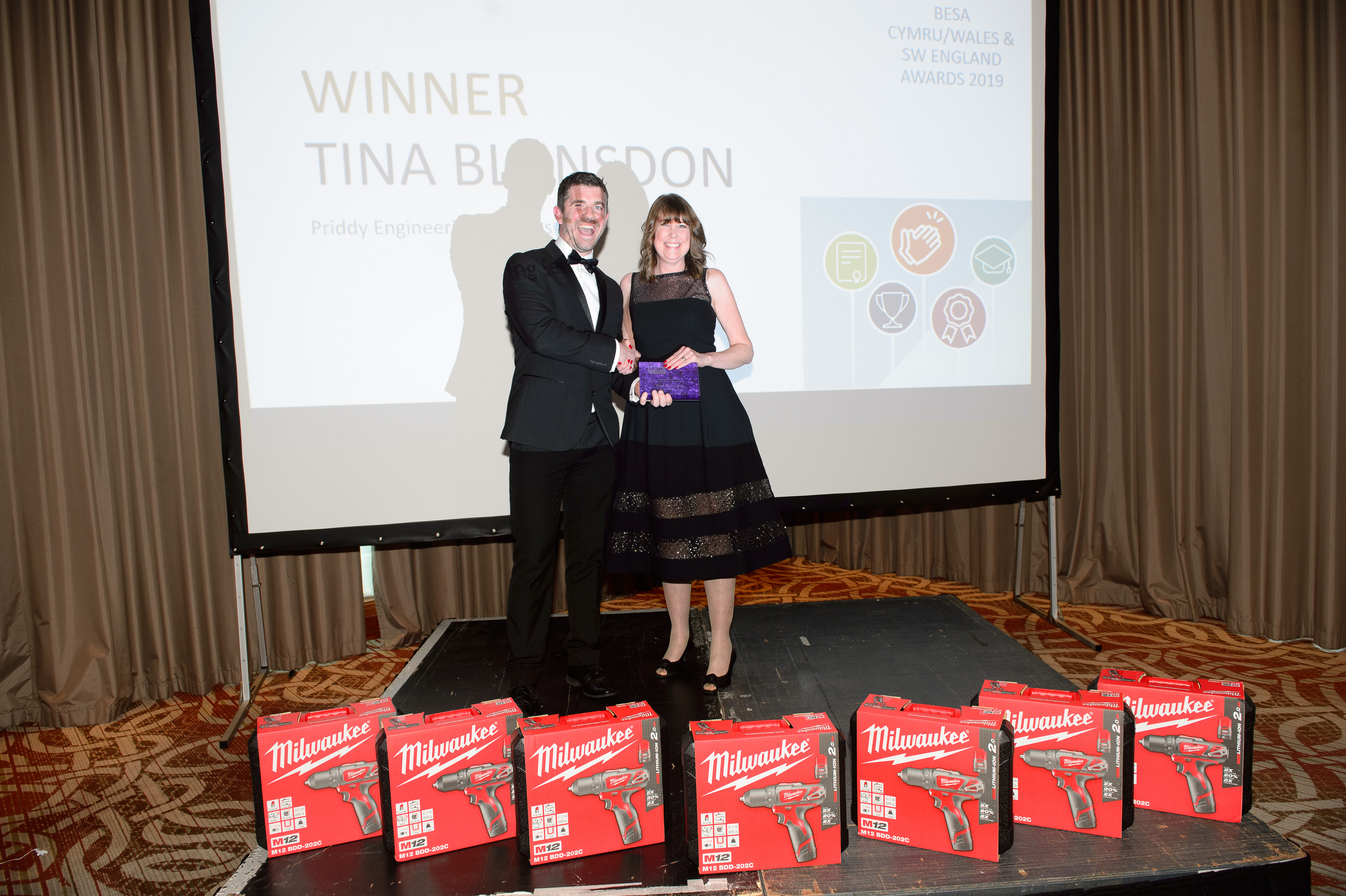 Tina Blunsdon, Priddy Engineering Services Ltd, Employer Engagement with Training Development of the Year